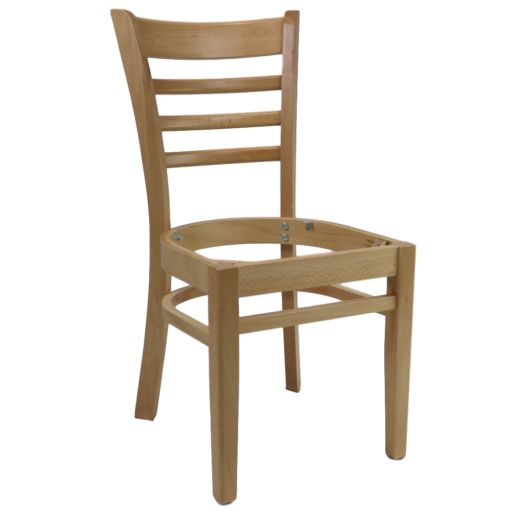 PART Florence Chair Frame - Natural - Made in Europe