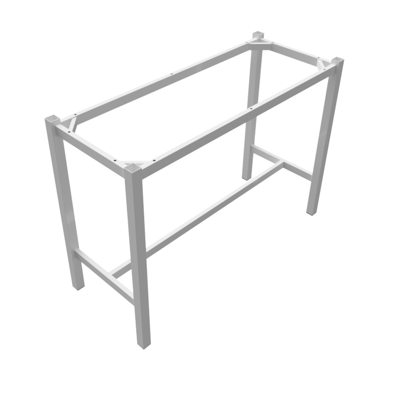Preston Steel Dry Bar Frame 1800x600 - White