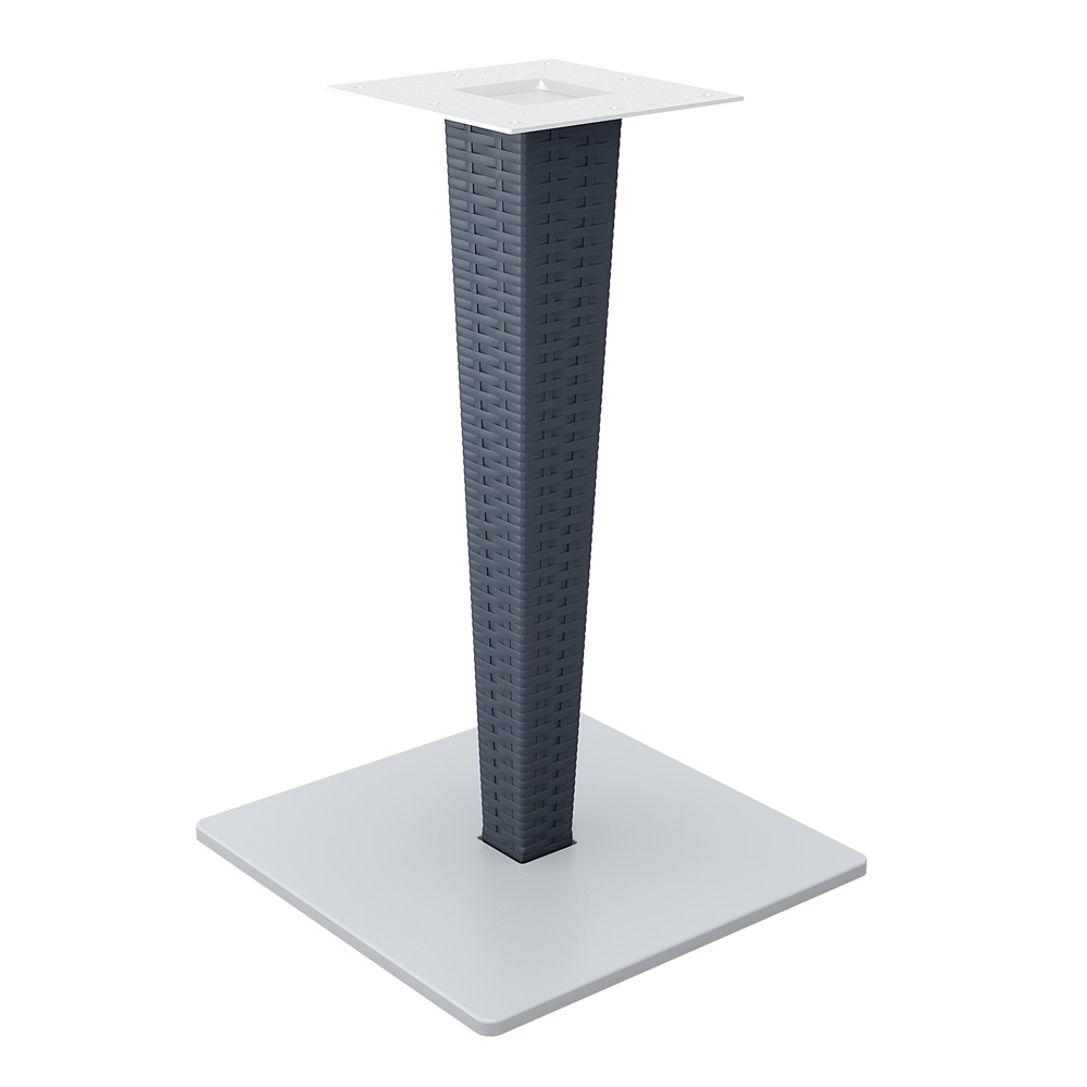 Riva Table Base - Anthracite