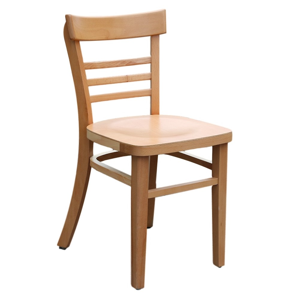 Vienna Chair - Natural - Timber Seat