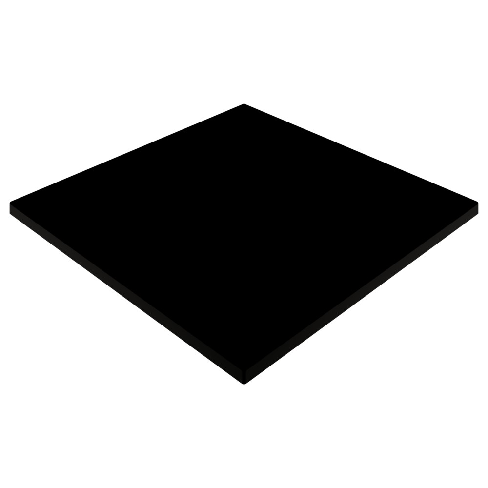 Gentas Black Duratop 600 x 600mm Square