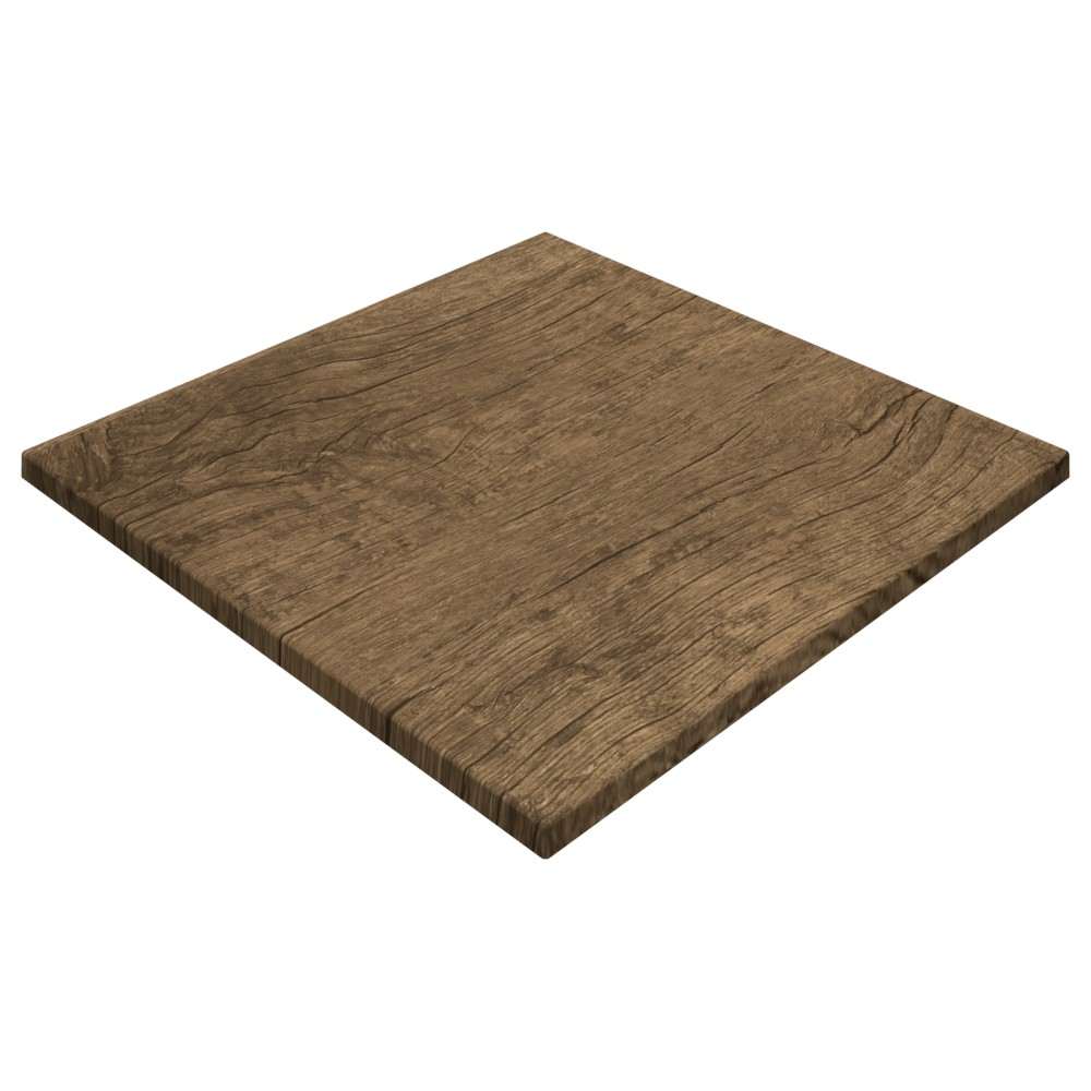 Gentas Rustic Dark Oak Duratop 600 x 600mm Square