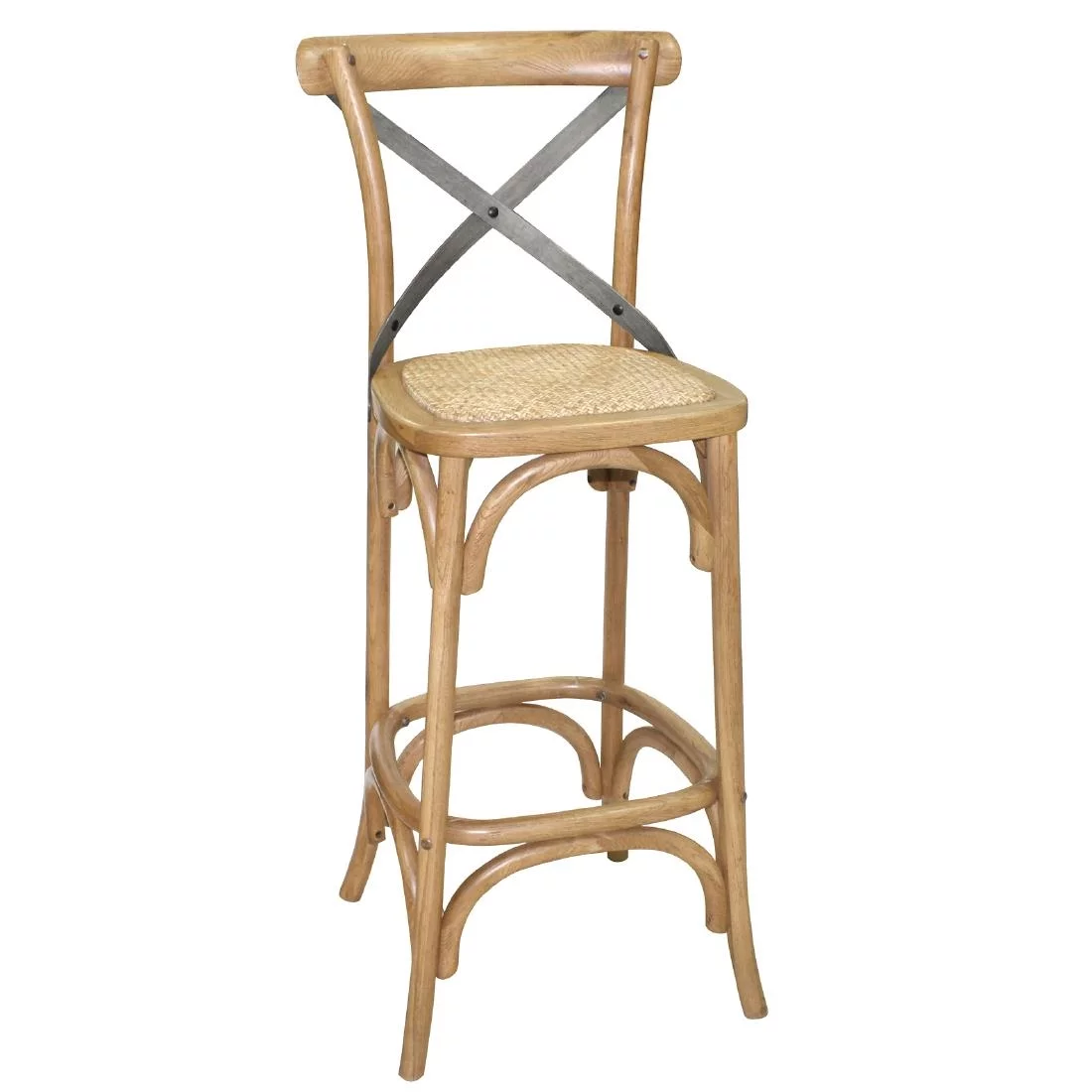Cross Back Barstool
