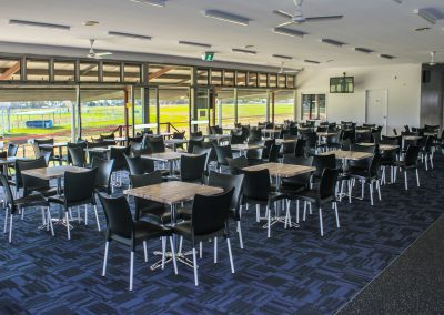Bundaberg Race Club - Merit Chair in Black