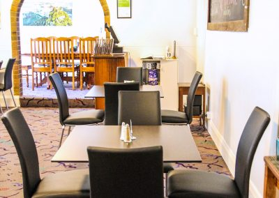 The Court House Hotel Boorowa - Ares Barstools, Artemis Armchairs, Corio Mk2 Chairs, Compact Laminate Table Top & Astoria Bar & Table Bases - Image 10