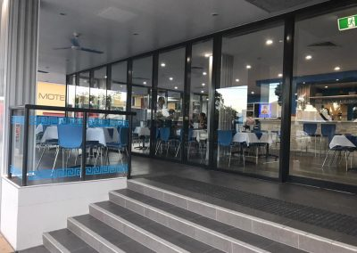 Outdoor Cafe Furniture at Lets Do Greek Restaurant in Mackay QLD
