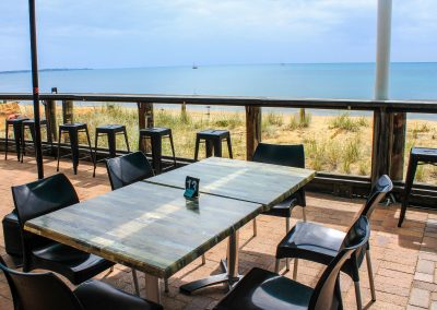 Aquavue Cafe Restaurant Hervey Bay - Vita Chair, Harbour Stools & Titan Folding Table Base - Image