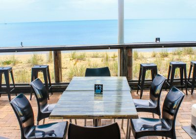 Aquavue Cafe Restaurant Hervey Bay - Vita Chair, Harbour Stools & Titan Folding Table Base - Image 2