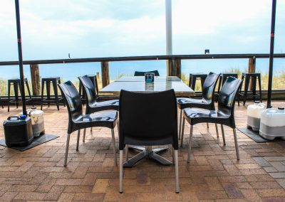 Aquavue Cafe Restaurant Hervey Bay - Vita Chair, Harbour Stools & Titan Folding Table Base - Image 4