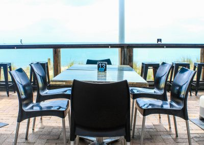 Aquavue Cafe Restaurant Hervey Bay - Vita Chair, Harbour Stools & Titan Folding Table Base - Image 5