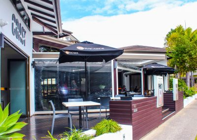 COAST Restaurant & Bar – Hervey Bay - Maya Chair in Anthracite - Image 1