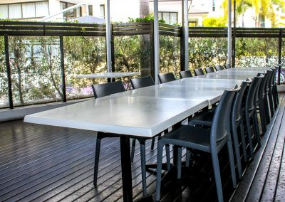 COAST Restaurant & Bar – Hervey Bay - Maya Chair in Anthracite - Image 12