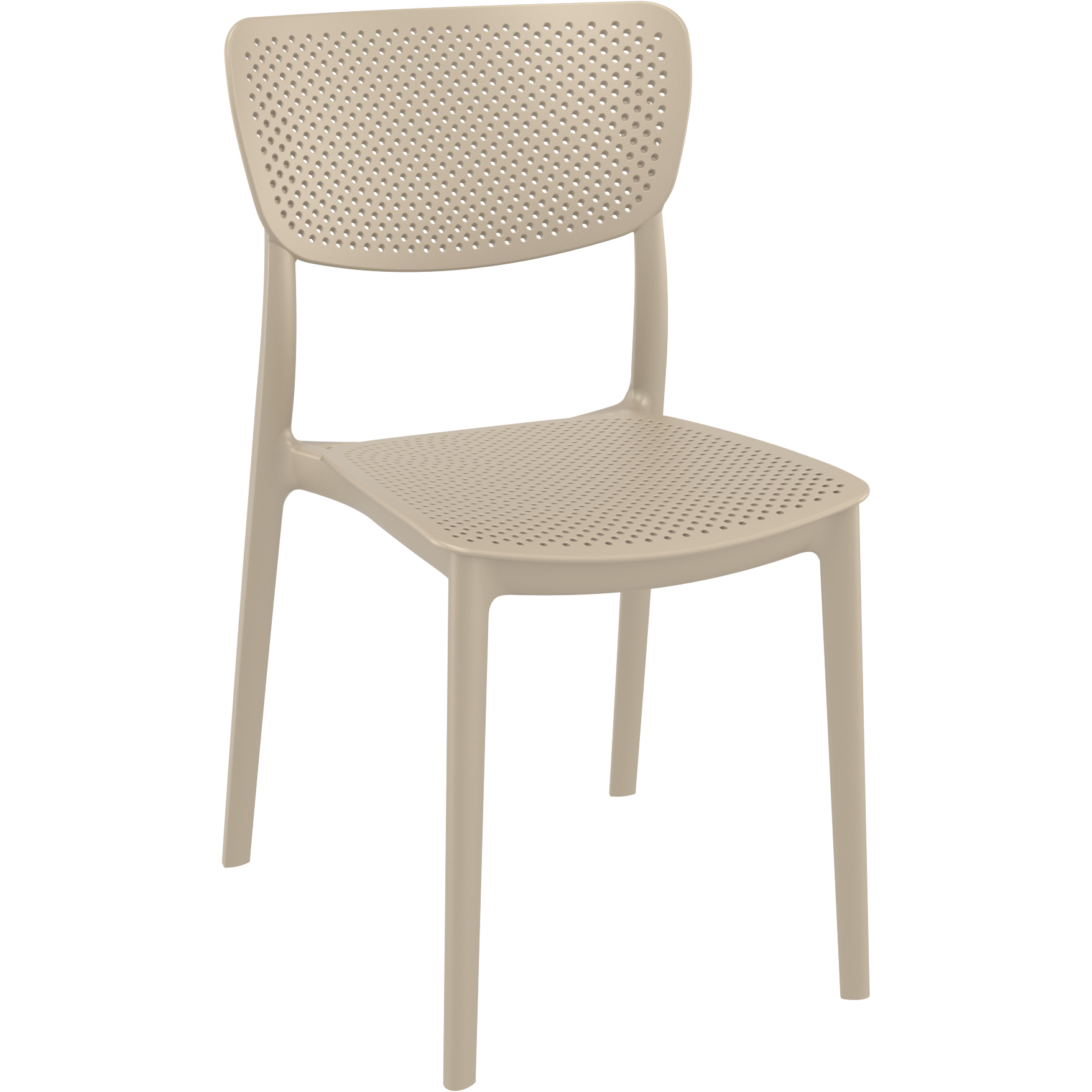 Lucy Chair - Taupe