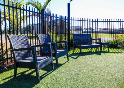 Big4 Tweed Billabong Holiday Park - Tequila Lounge Armchair in Anthracite, Side Table & Fiji Sunlounger in Anthracite - Image 33