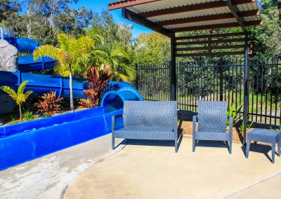 Big4 Tweed Billabong Holiday Park - Tequila Lounge Armchair in Anthracite, Side Table & Fiji Sunlounger in Anthracite - Image 25