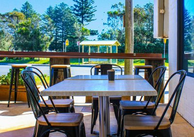 One Cafe Restaurant – Narrabeen - Harbour Stools - Image 1
