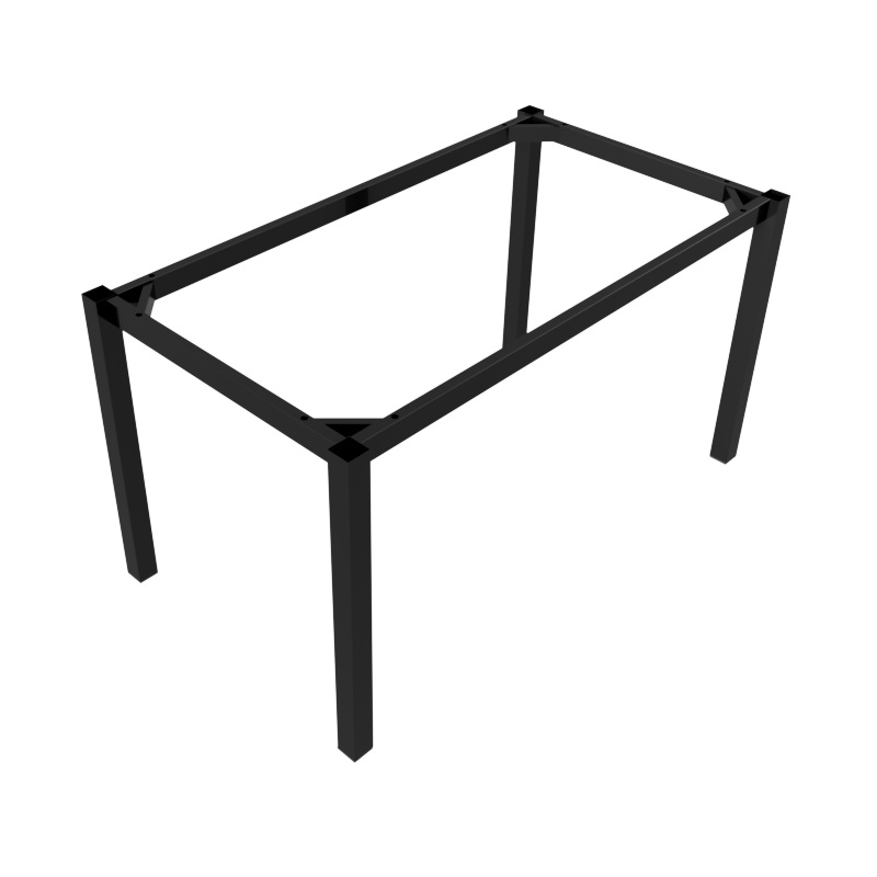 Preston Aluminium Table Frame 1140x740 - Black