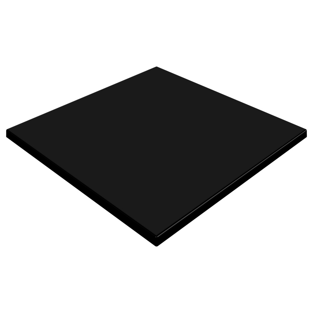 SM France Black Duratop 700 x 700mm Square