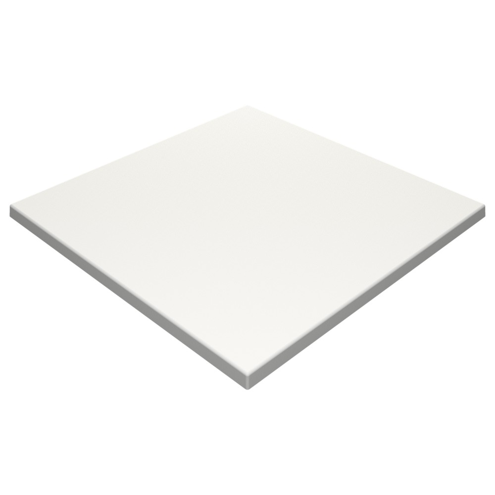 SM France White Duratop 800 x 800mm Square