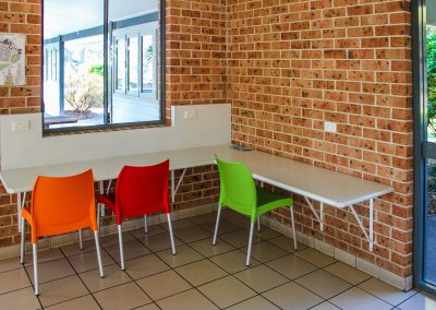 BIG4 Park Beach Holiday Park – Coffs Harbour - Camp Kitchen - Vita Chairs - Image 1