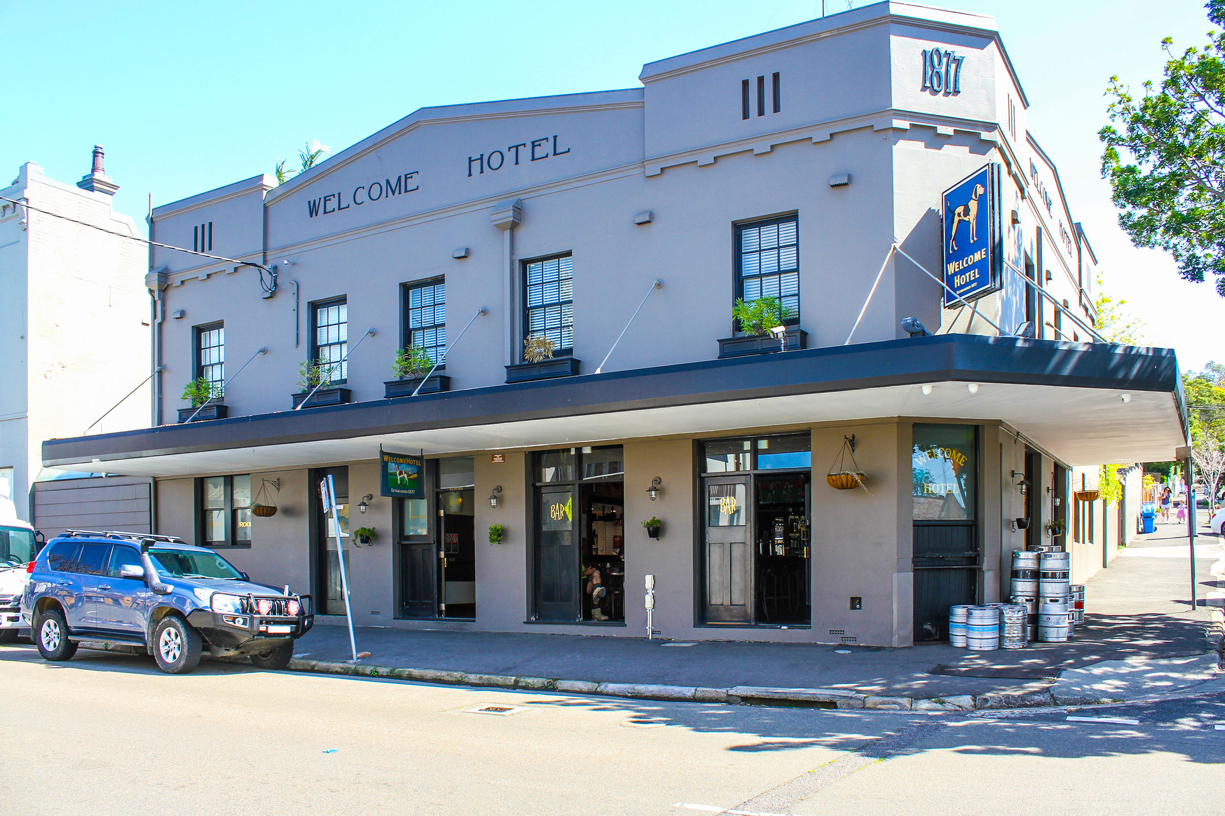 Name : The Welcome Hotel - Sydney