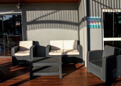BIG4 Park Beach Holiday Park – Coffs Harbour - Monaco Lounge in Anthracite - Image 1