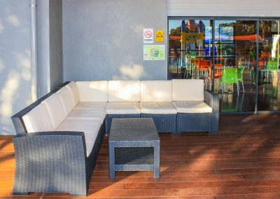 BIG4 Park Beach Holiday Park – Coffs Harbour - Monaco Corner Lounge in Anthracite - Image 2