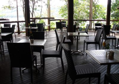 Secrets On The Lake Cafe Montville - Palm Chair & Roma Table Base - Image 2