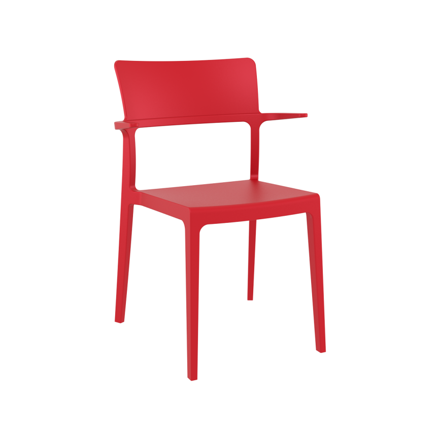 Plus Armchair - Red
