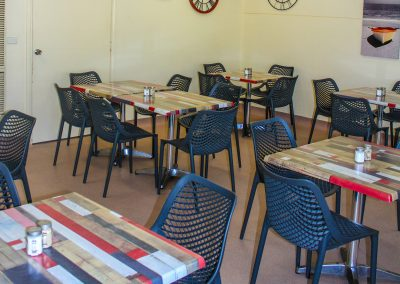Borella Seafood Black Air Chair & Tables image 5