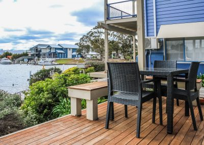 Captains Cove - Paynesville Vic - Ibiza Armchair with Bali Table