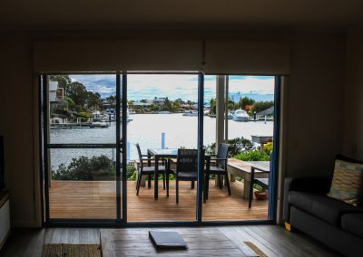 Captains Cove Resort – Paynesville VIC - Ibiza Armchair in Anthracite & Bali Table in Anthracite - Image 3