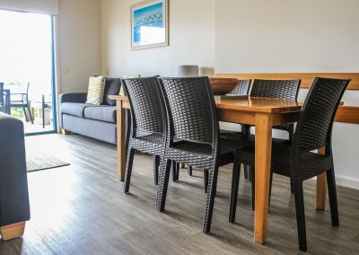 Captains Cove Resort – Paynesville VIC - Ibiza Armchair in Anthracite & Bali Table in Anthracite - Image 1