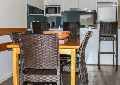 Captains Cove Resort – Paynesville VIC - Ibiza Armchair in Anthracite & Bali Table in Anthracite - Image 2