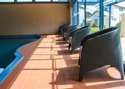 Captains Cove Resort – Paynesville VIC - Tequila Side Tables, Ibiza Armchair in Anthracite & Fiji Sunloungers in Anthracite - Image 8