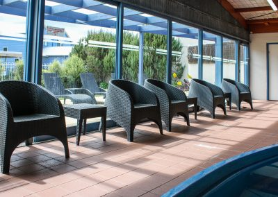 Captains Cove Resort – Paynesville VIC - Tequila Side Tables, Ibiza Armchair in Anthracite & Fiji Sunloungers in Anthracite - Image 10