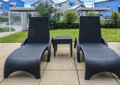 Captains Cove Resort – Paynesville VIC - Tequila Side Tables, Ibiza Armchair in Anthracite & Fiji Sunloungers in Anthracite - Image 16