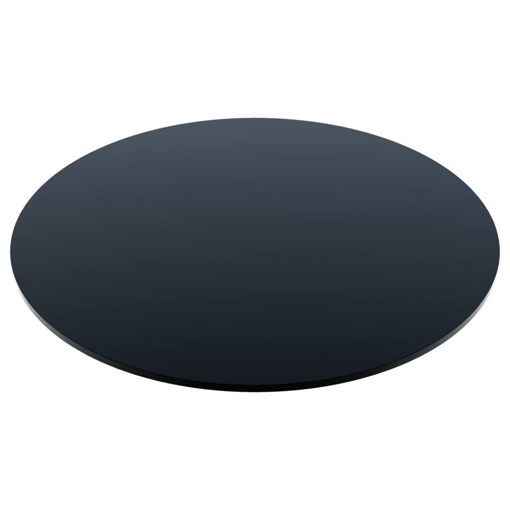 Compact Laminate Black Table Tops