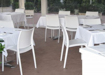 Pavilion By The Pier - Maya Chair, Blitz Folding Table Base & Duratop Table top - Image 3