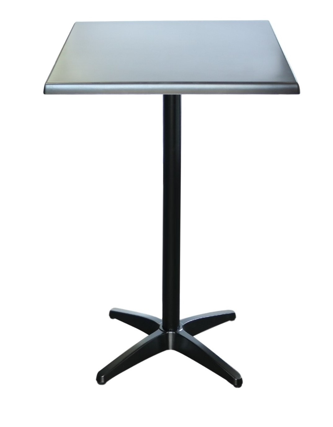Astoria Black Bar Table Square