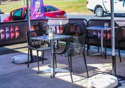 Borella Seafood Black Air Chair & Tables image 3
