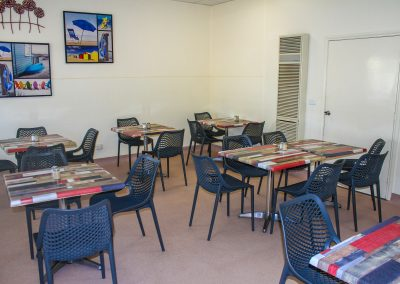 Borella Seafood Black Air Chair & Tables image 2