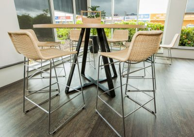 Sizzler Restraunt - Carlton Table Frame, Astoria Black Table Base & Melamine Table Top - Image 7