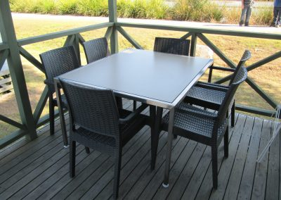 Brooms Head Caravan Park - Patio Armchairs & Tables