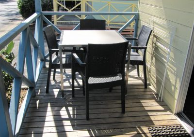 Brooms Head Caravan Park - Deck Table & Chair