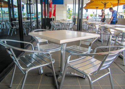 Signatures Coffee Lounge - Duratop Table Tops, Roma Table Base and Roma Twin Table Base - Image 4