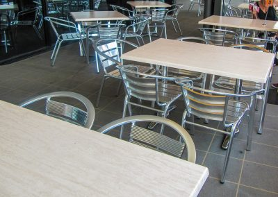 Signatures Coffee Lounge - Duratop Table Tops, Roma Table Base and Roma Twin Table Base - Image 3