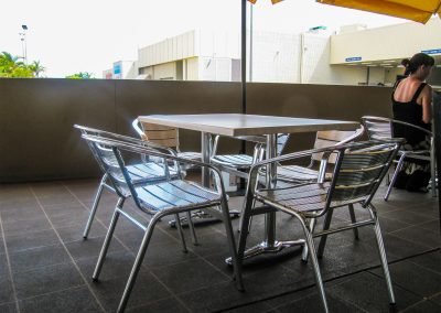 Signatures Coffee Lounge - Duratop Table Tops, Roma Table Base and Roma Twin Table Base - Image 2