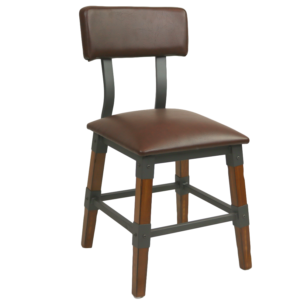 Genoa Chair 480H AW - Vinyl Seat/Backrest DT