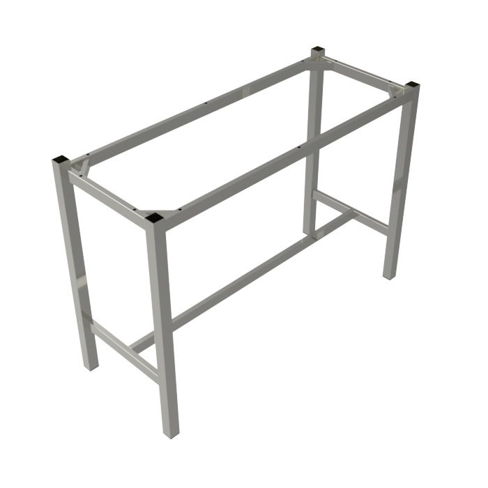 Preston Steel Dry Bar Frame 1800x600 - Silver